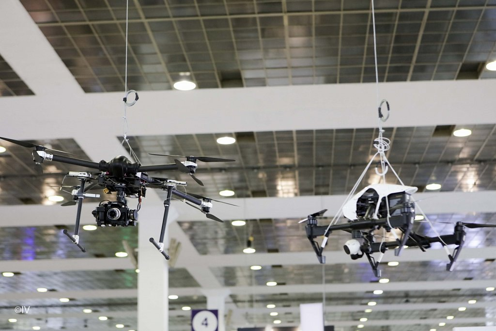 Drone Days - Brusselsexpo - March 2017  ©Ivan Verzar