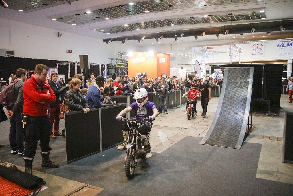 Salon du Sports - Brusselsexpo - February 2017  ©Ivan Verzar