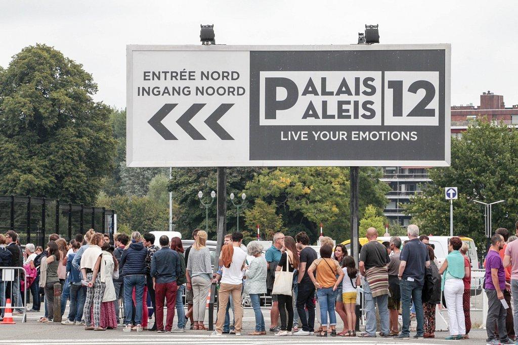 Dalaï Lama - Palais 12 Paleis - september 2016 - ©Ivan Verzar