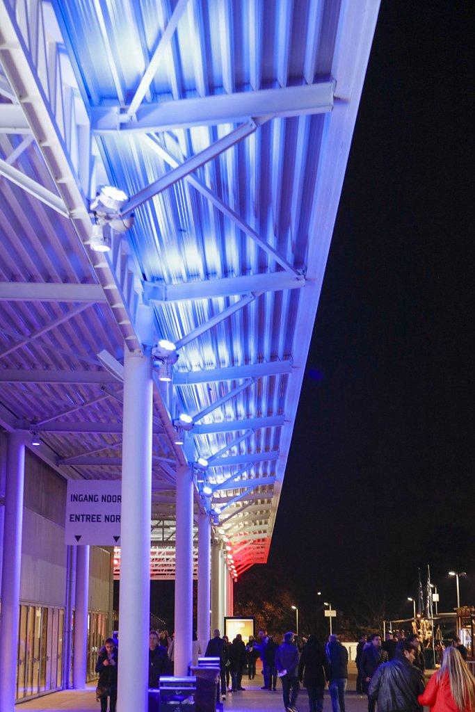 Palais 12 Paleis - drapeau français - november 2015 - © Ivan V