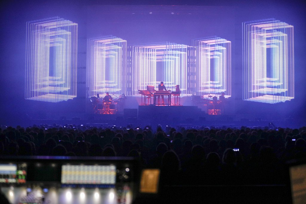Jean-Michel Jarre - Palais 12 Paleis - october 2016  ©Ivan Verz